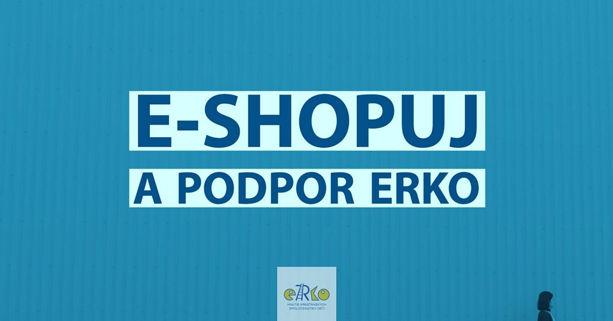 E-shopuj a podpor eRko